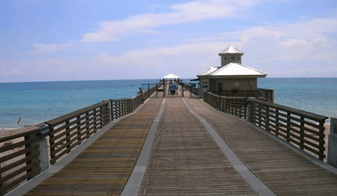 Fishing Pier in Juno, FL