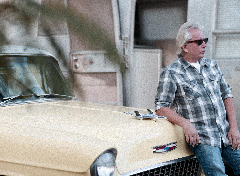 tim jackson with car