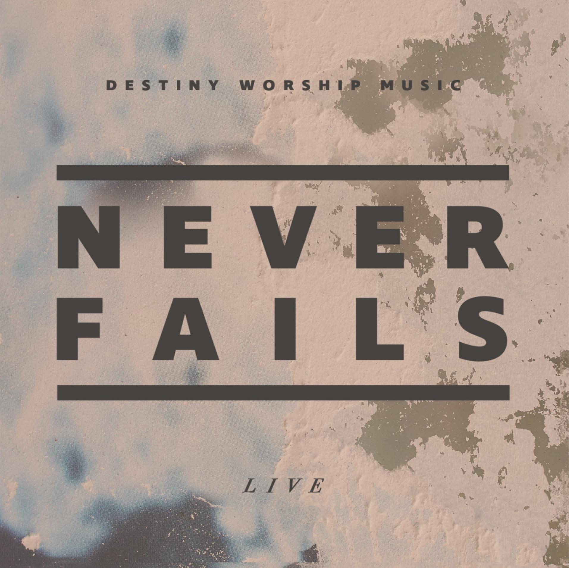 never fails album cover