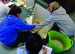 450 Middle school Students Participate in CBA Dunes in School Program