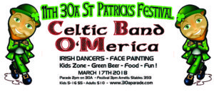 11th Annual St Patrick's Parade March 17th