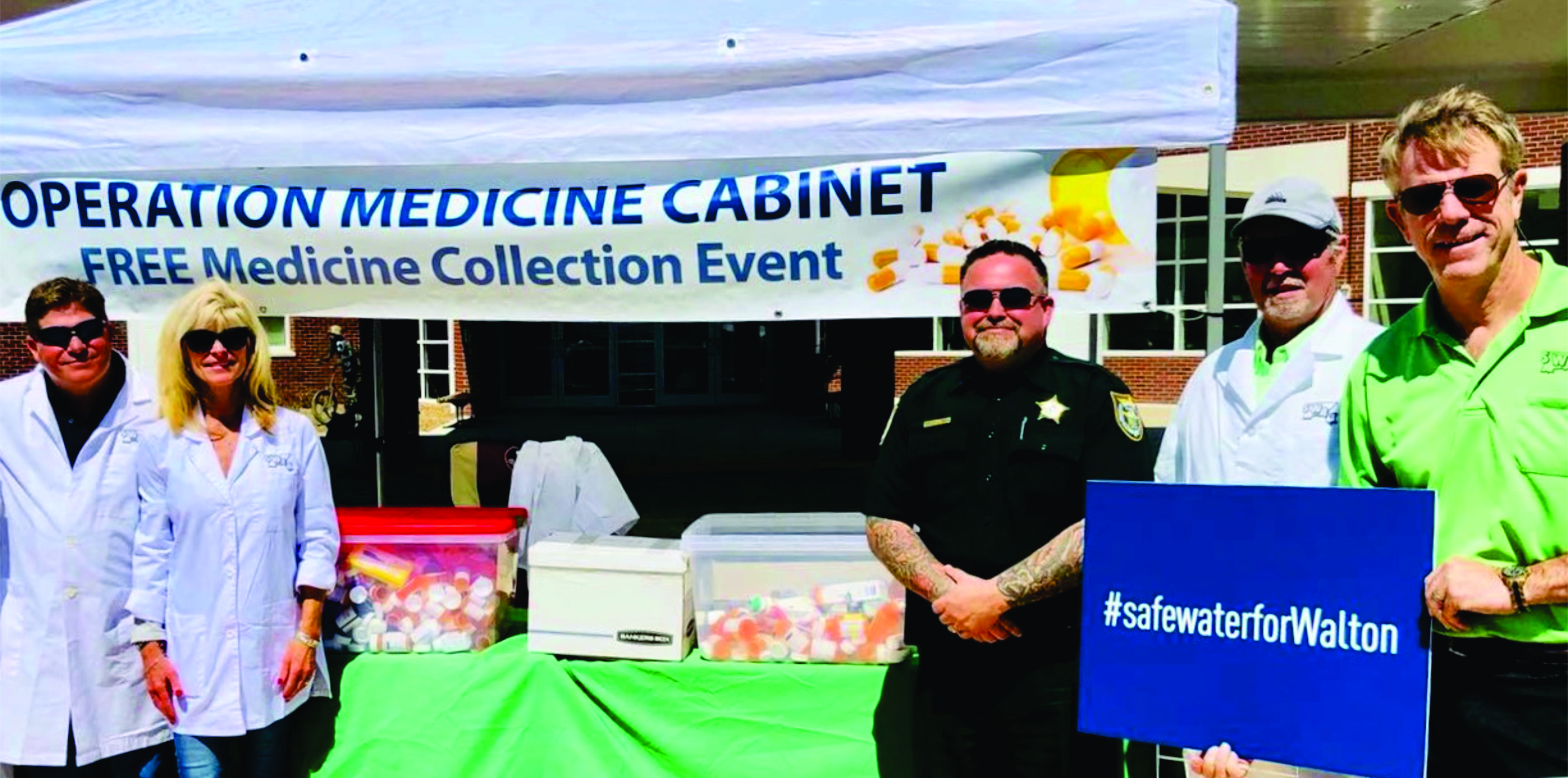 Safe Water for Walton launches first-ever 'Operation Medicine Cabinet'