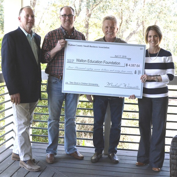 Small Business Association Provides Scholarship