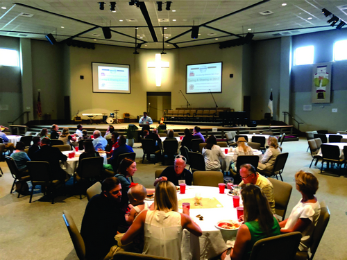 Over a Hundred are Blessed at Marketplace Luncheon