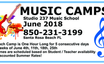 Music Camps Art Work For Sowal