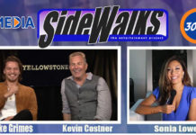 Sidewalks Tv Host Sonia Lowe Interviews Luke Grimes And Kevin Costner2