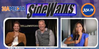 Sidewalks Tv Host Sonia Lowe Interviews Luke Grimes And Kevin Costner2