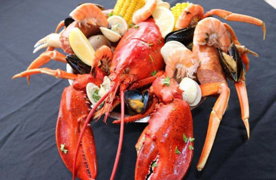 Crazy Lobster Destin Seafood Bucket