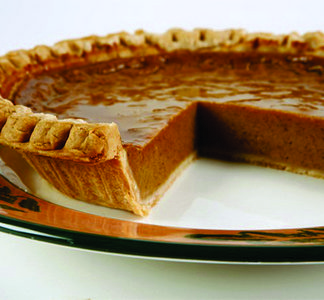 Maple Roasted Pumpkin Pie