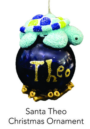 Reef Theo Christmas Ornament