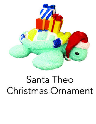 Santa Theo Christmas Ornament
