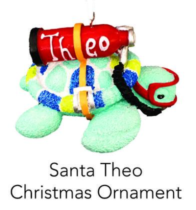 Scuba Theo Christmas Ornament