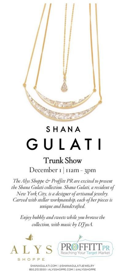 Shana Gulati Trunk Show 4x9