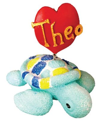 Theo Heart Ornament
