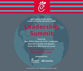 Chick Fil A Emerald Coast Hosts Leadership Summit Jan 23rd