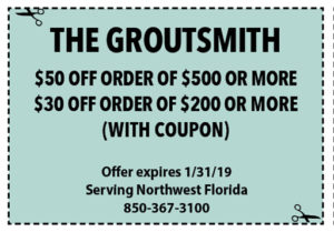 Groutsmith January 2019 Coupons
