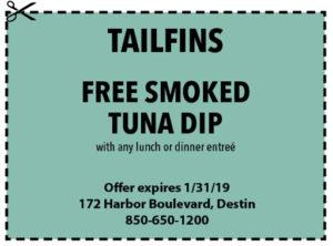 Tailfins Jan 2019 Coupons