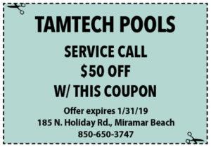 Tamtech January 2019 Coupons