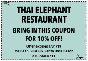 Thai January 2019 Coupons