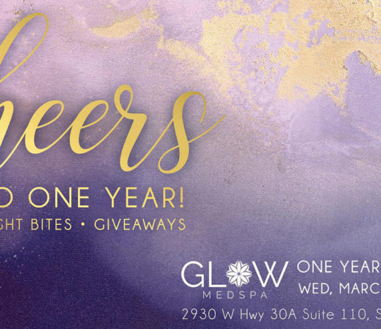 Glow One Year Fb