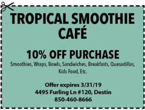 Trop Smoothie March 2019