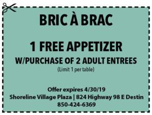 Bric A Brac April 2019