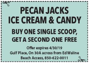 Pecan Jacks April 2019