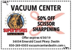 Vacuum Ctr April 2019