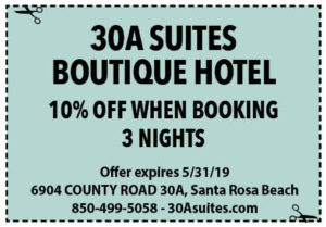 30a Suites May 2019 Coupons