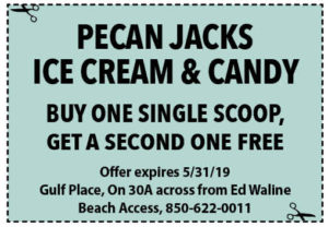 Pecan Jacks May 2019 Coupons