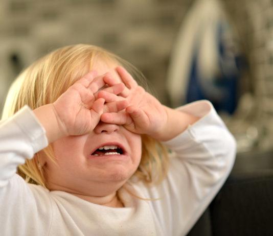 Crying Tantrum Girl