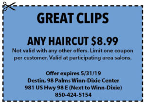 Great Clips May 2019
