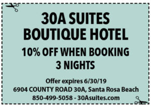 30a Suites June 2019 Coupons