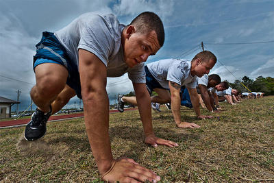 Air Force Basic Military Training Fitness Test Image