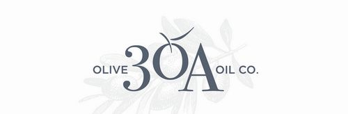 30a Olive Oil Co Identity On White