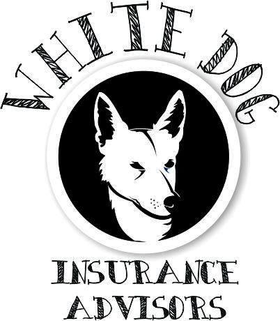 White Dog Logo Cmyk