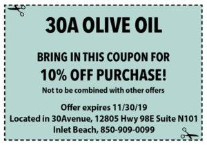 30a Olive Oil Nov 2019