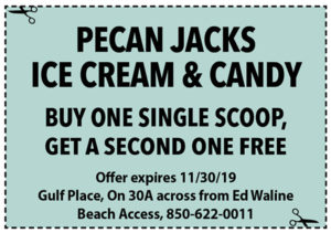 Pecan Jacks Nov 2019