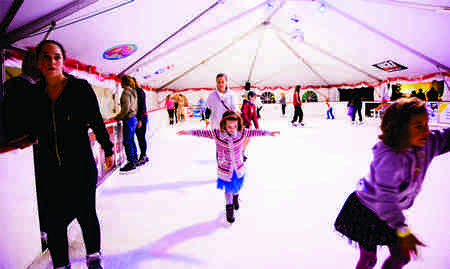 A Fun Evening Of Ice Skating In Baytown