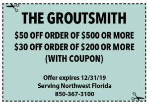Groutsmith Dec 2019 Coupons