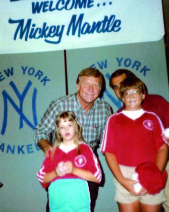 Mickey Mantle Charlie Special Olympics Okaloosa History Booklet 2 Page 4