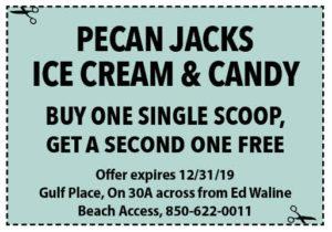 Pecan Jacks Dec 2019 Coupons