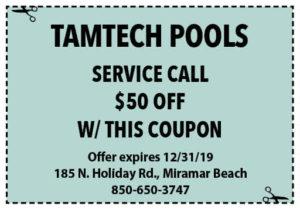 Tamtech Dec 2019 Coupons