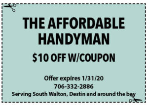 Addordable Handyman Coupon Sowal Jan 2020