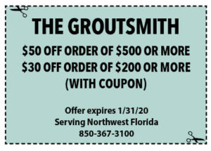 Groutsmith Coupon Sowal Jan 2020