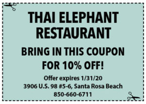 Thai Elephant Coupon Sowal Jan 2020