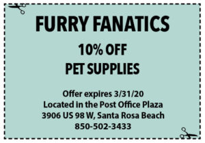 Sowal March 2020 Coupons Furry Fanatics