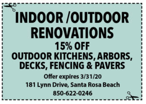 Sowal March 2020 Coupons Indoor Outdoor Renovations