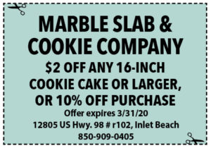 Sowal March 2020 Coupons Marble Slab