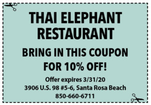 Sowal March 2020 Coupons Thai
